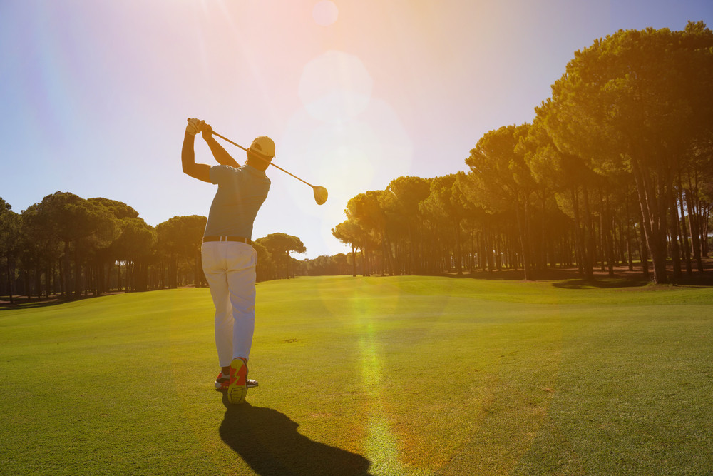 How Many Times Do You Get to Golf in a Month?